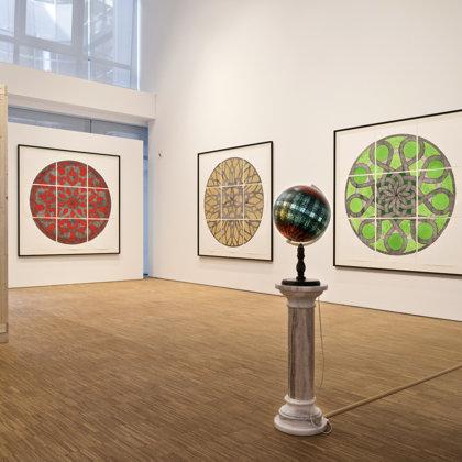 Exhibition view, DG Deutsche Gesellschaft für christliche Kunst 2020