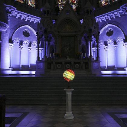 Exhibition view; St.Lukaskirche München; Artionale 2019