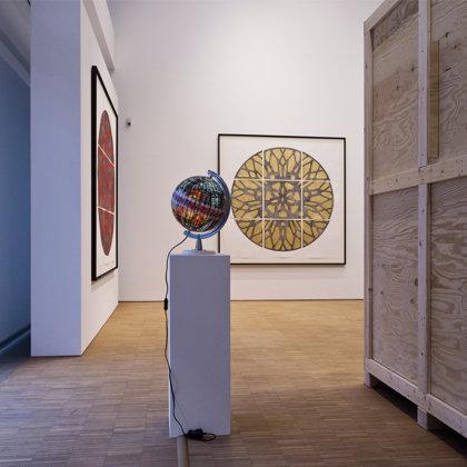 Ausstellungsansicht, DG Deutsche Gesellschaft für christliche Kunst 2020